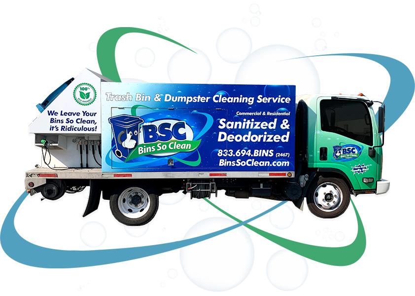 Bins So Clean Service Truck